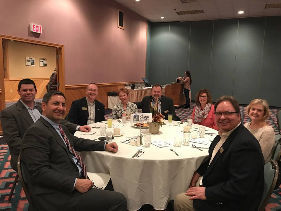Alpena Area Chamber of Commerce's annual dinner