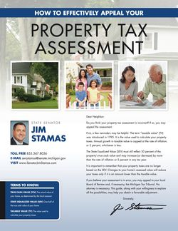 Appeal your Property Tax Assessment