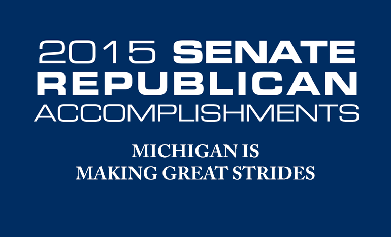 2015 Senate Republican Accomplishments