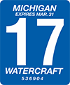 Watercraft registration